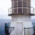 Der Point Reyes Leuchtturm an der kalifornischen Pazifikküste nordwestlich von San Francisco
